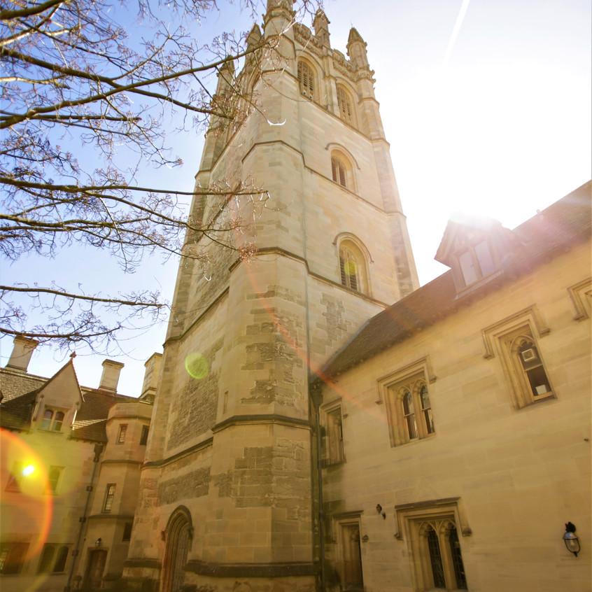 May Day - Magdalen Tower 1