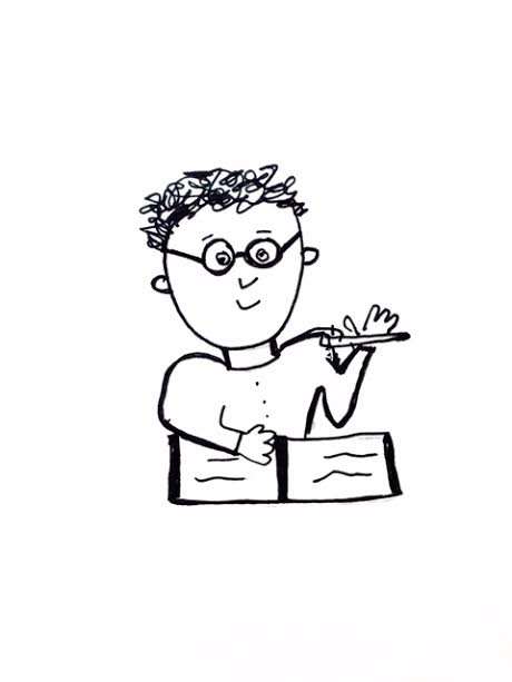 Essay cartoon