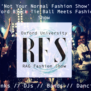 Oxford University RAG Fashion Show 2017