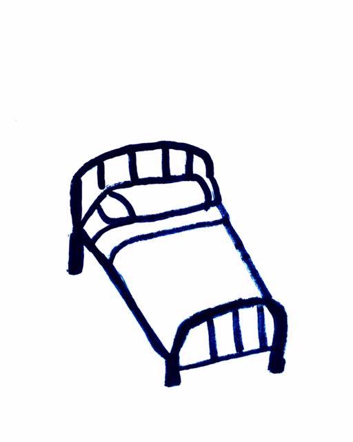Bed cartoon