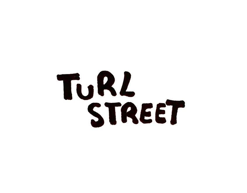 Turl Street sign