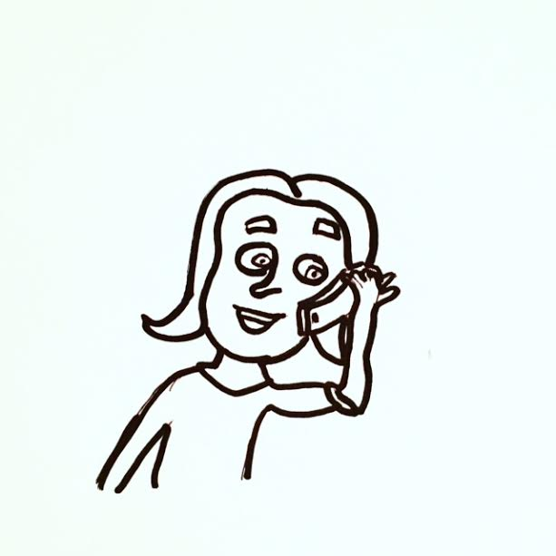 admissions helpline cartoon
