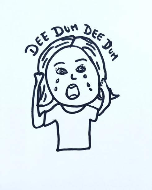 dee dum cartoon