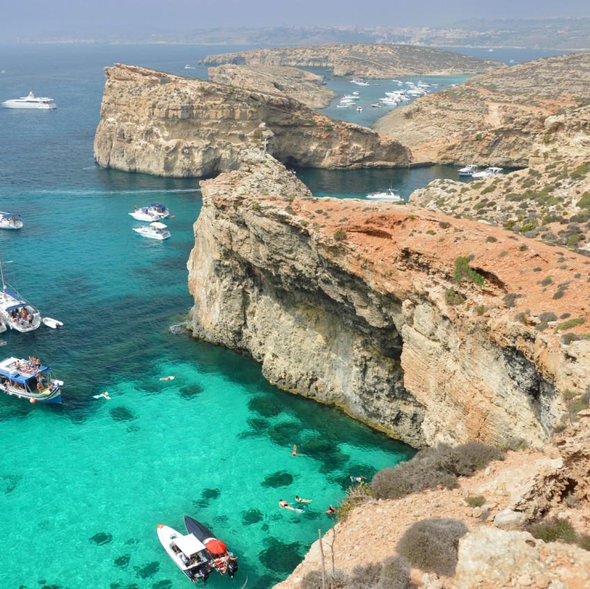 malta+comino+blue+lagoon