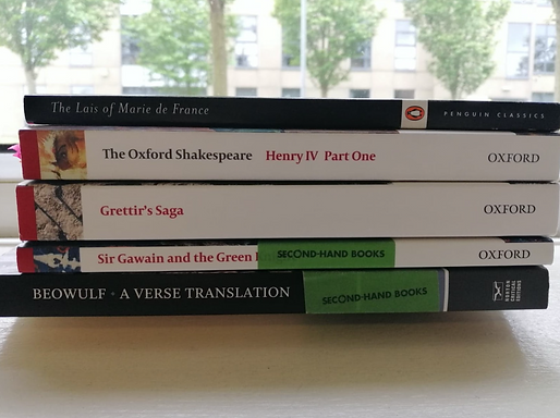 Favourite Texts I've Studied So Far! - From an English Literature Student