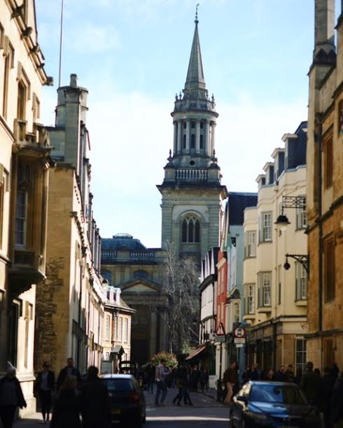Turl Street tower