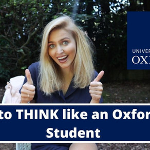 How to THINK like an Oxford Student