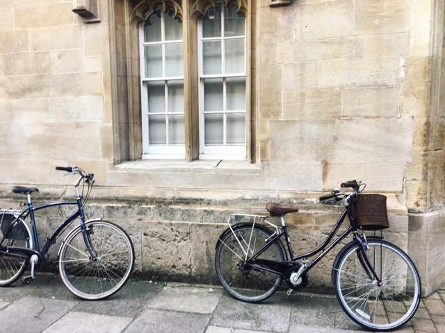 Bikes Turl Street
