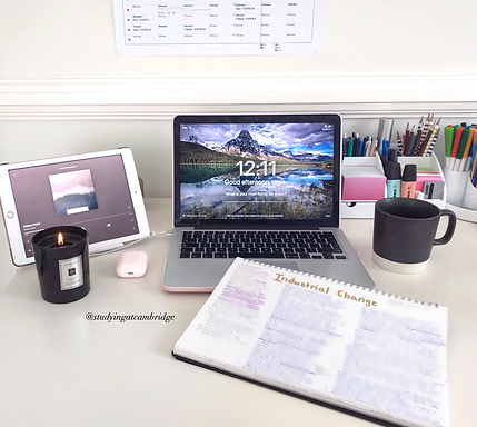 Making a Cosy & Productive Study Space at Home