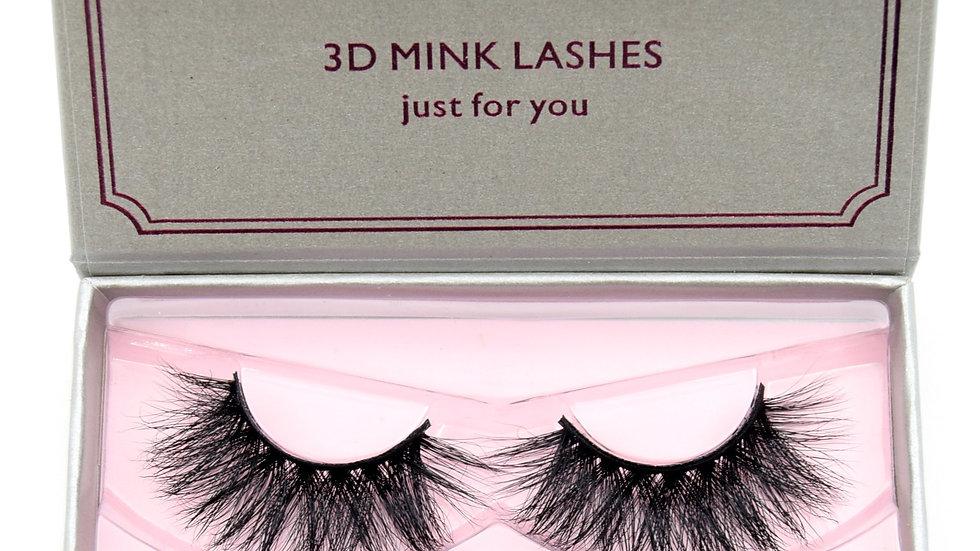 3D Mink Lashes Reusable Full Strip Lashes