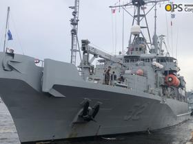 USNS SALVOR(T-ARS-52) VISIT IN YOKOHAMA
