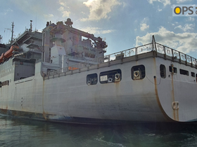 USNS CARL BRASHEAR VISIT IN CHINHAE