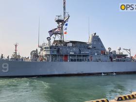 USS PIONEER(MCM 9) VISIT IN POHANG, KOREA