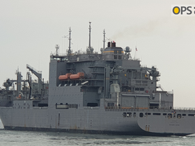 USNS RICHARD E BYRD IN CHINHAE, KOREA
