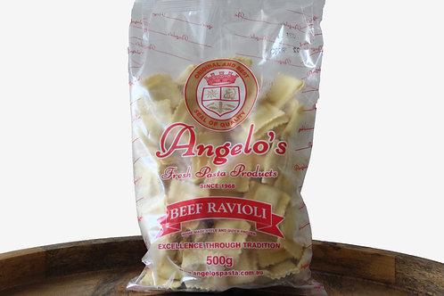 Angelo's Beef Ravioli 500g
