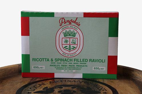 Angelo Ravioli Spinach and Ricotta 650g