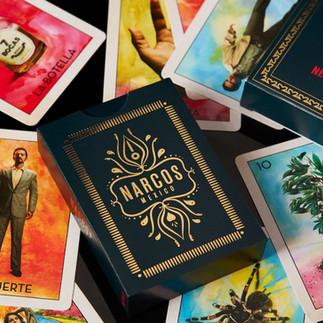 Narcos Loteria game - marketing