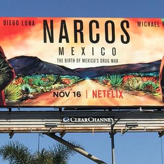 Narcos Mexico billboard
