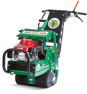 """18"""" Hydro-Drive Sod Cutter for Golf Applications"""
