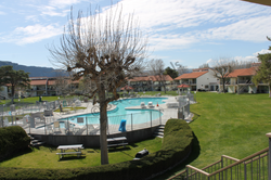 View of pool/Courtyard