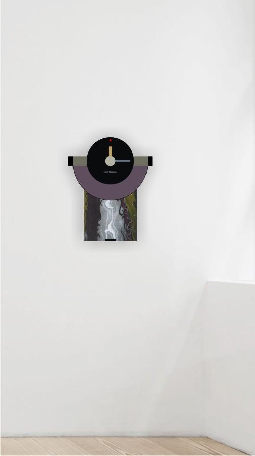 Clock wall 4