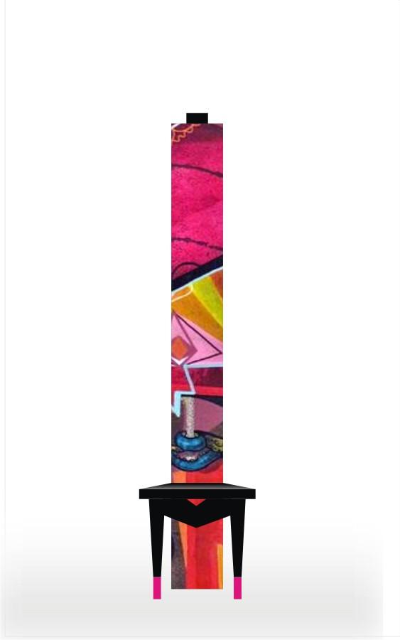 Tall Art Chair C1008