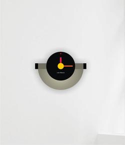 Wall Clock half round 1