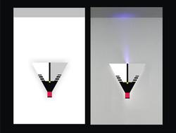 Triangular sconse
