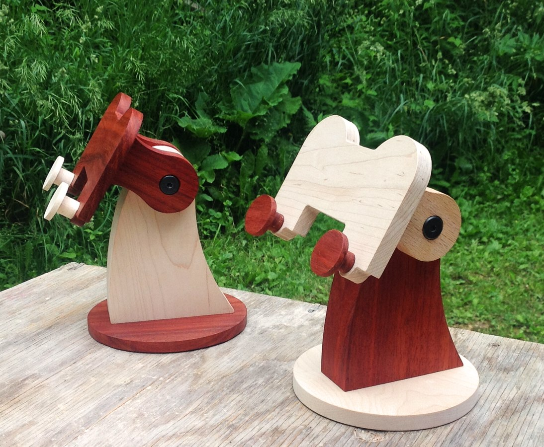 Maple and Padauk