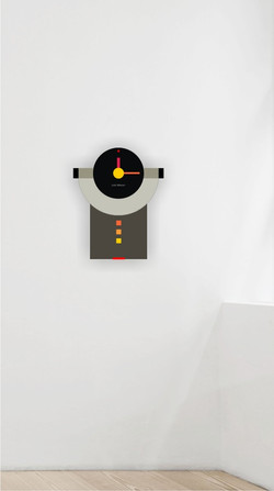 Clock wall 3