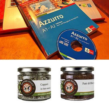 Genussbox mit Online-Sprachkurs
