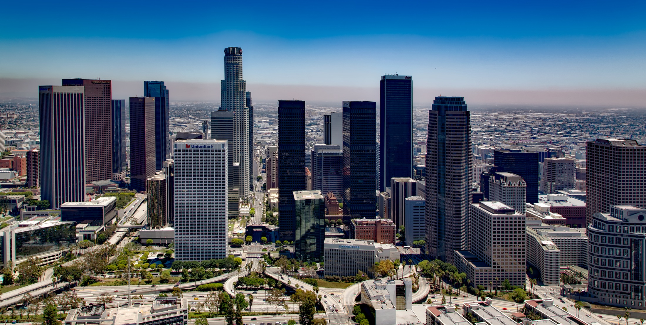 Los Angeles City Scape