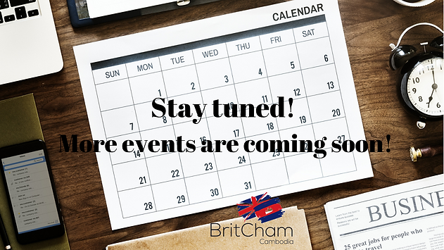 Stay tuned! More events are coming soon!