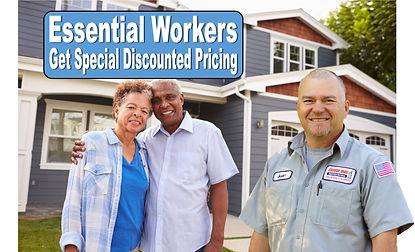 special pricing on electrical services for essential workers