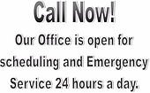 Call now, electrician on call 24 hour service