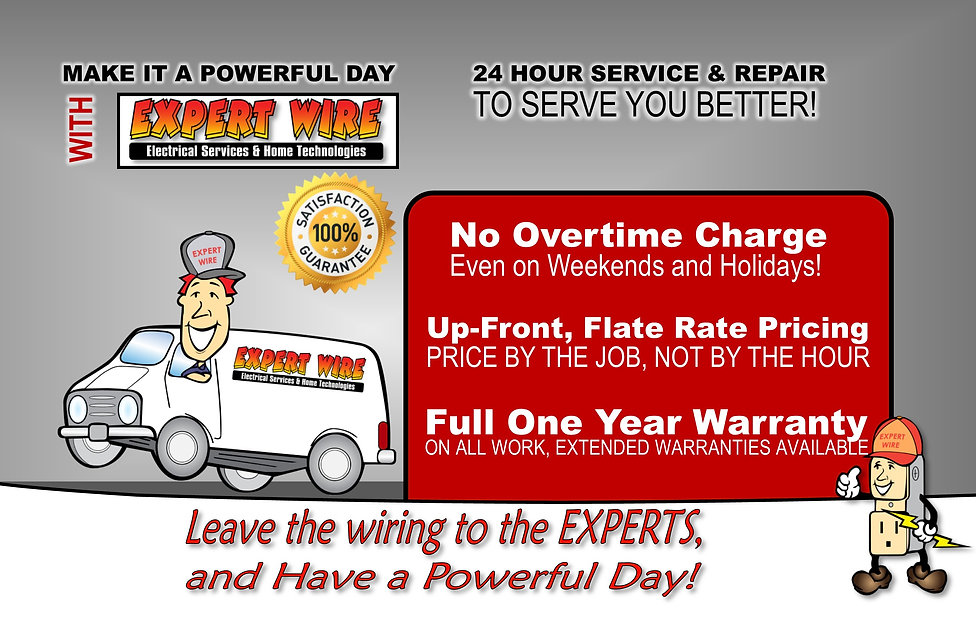 Leave the wiring to the Experts and have a powerful day!