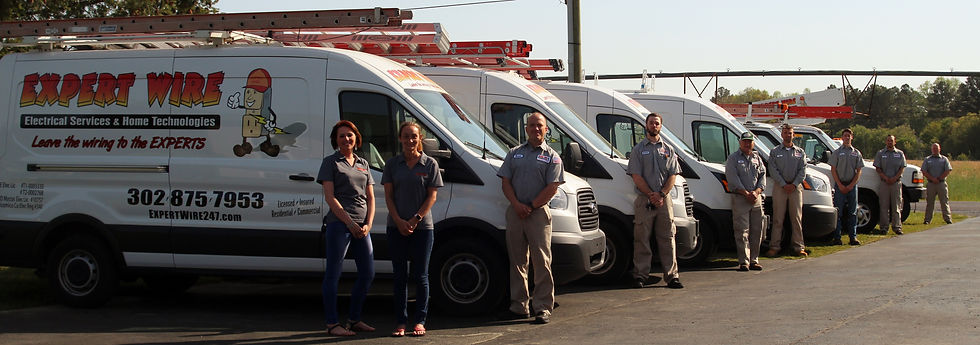 Expert Wire's electrical service team