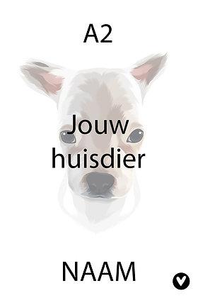 Huisdieren poster A2