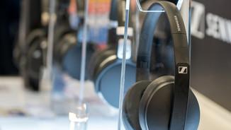 Interactive Headphone Tables