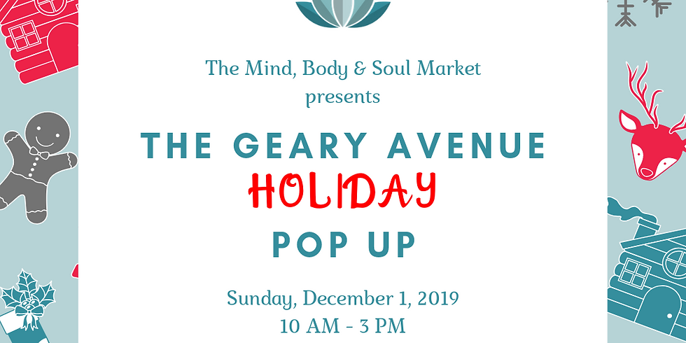 The Geary Avenue Holiday Popup