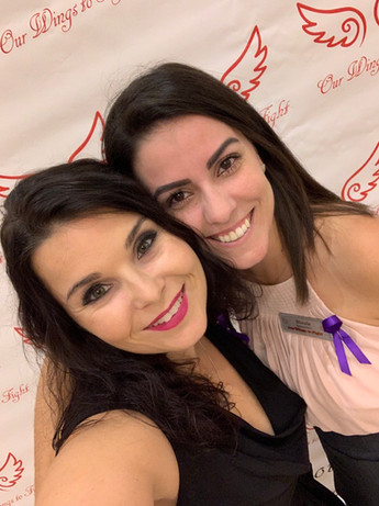My dear friend Nadia & I