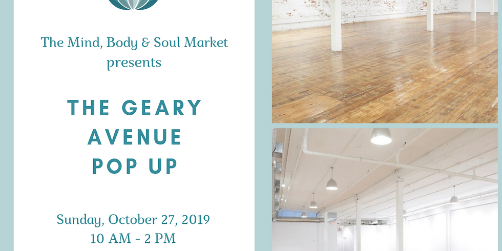 The Geary Avenue Popup