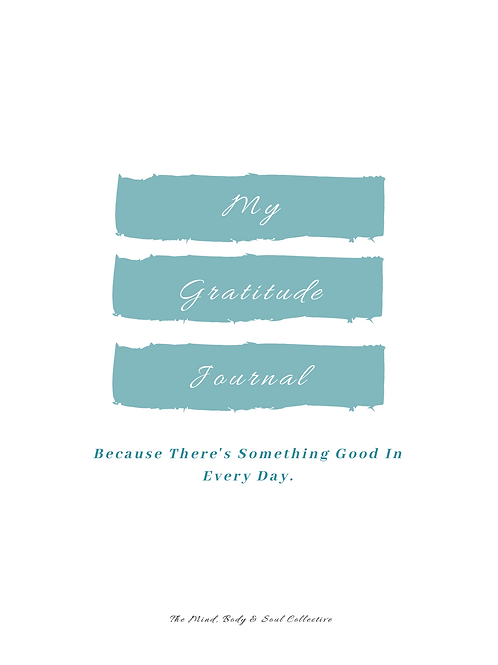 My Gratitude Journal, One Month
