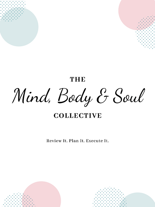 The Mindful Intentions Workbook