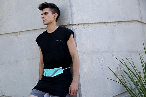 Rhythm Water-Resistant Sport Waist Pack Running Belt With Reflective Strip