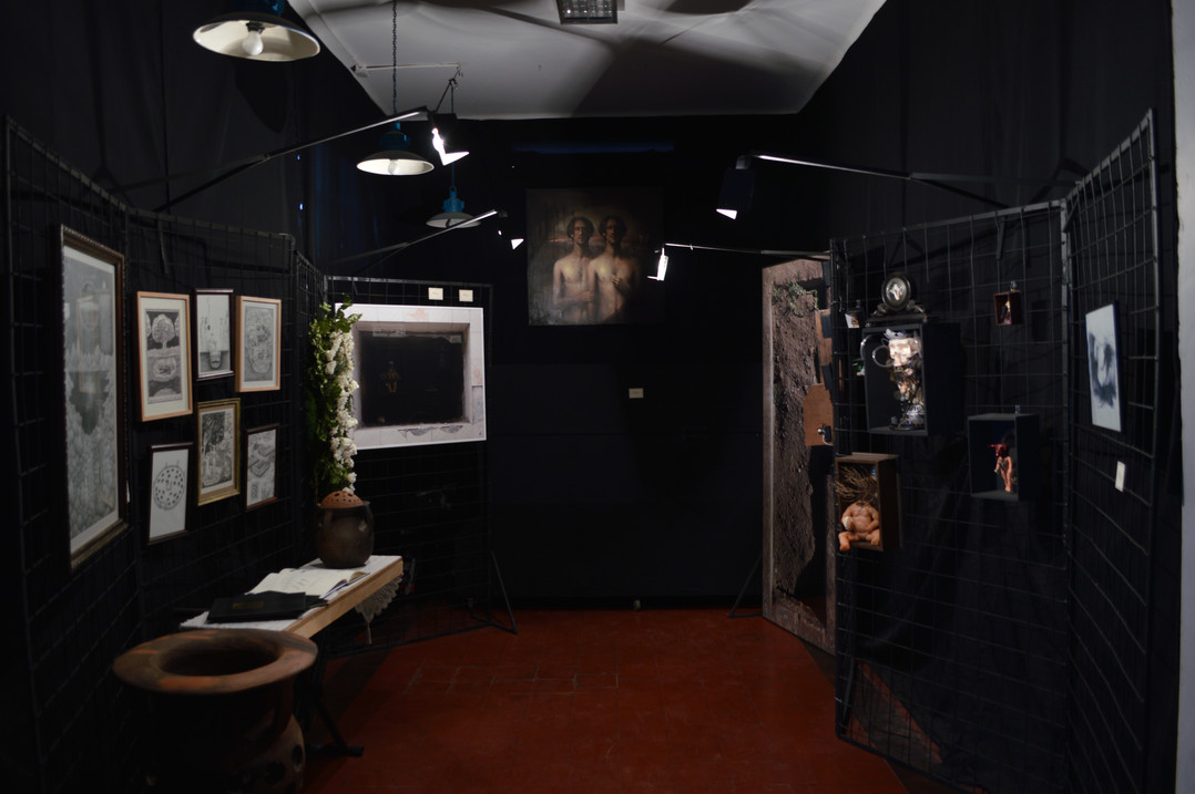 Exposición artes visuales