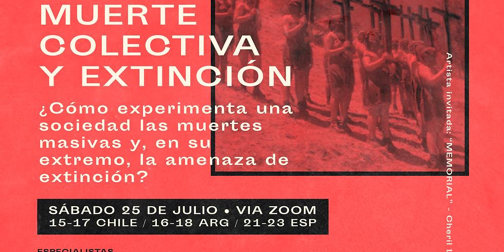 """Conversatorio EIM V: """"Muerte colectiva y extinción"""""""