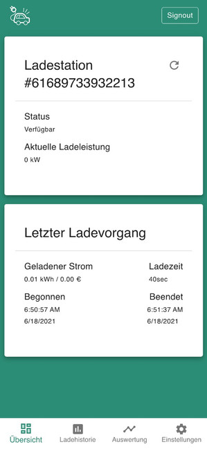 DaheimLaden Online Portal