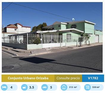 casa en venta en conjunto urbano orizaba