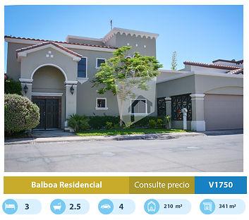 casa en venta en balboa residencial mexi